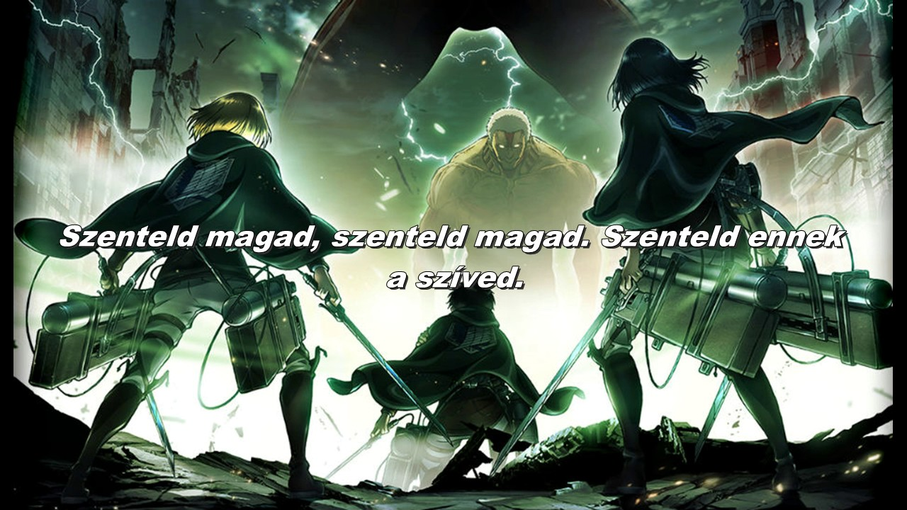 Attack on titan Season 2 opening (magyar/hun) sub - YouTube