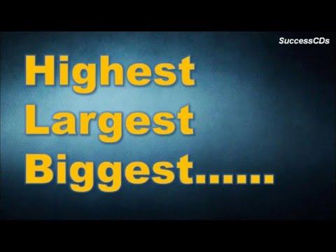 World&39;s Largest Highest Tallest Biggest