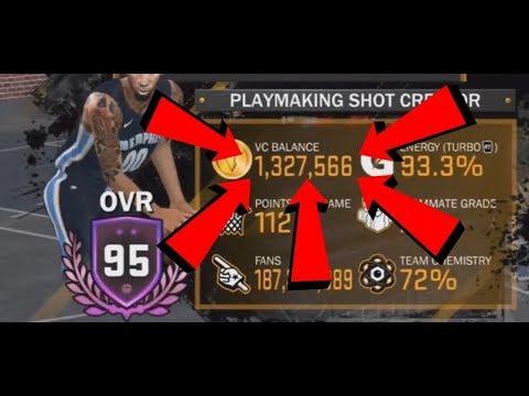 HOW TO EARN 1 MILLION+ VC IN NBA 2K18