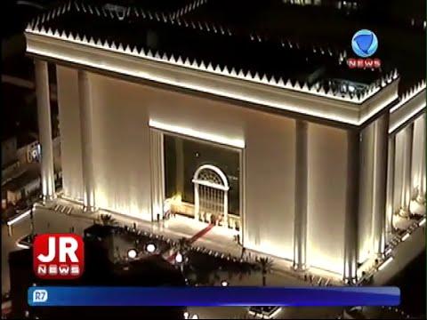 A inauguração do Templo de Salomão em São Paulo (Record News)