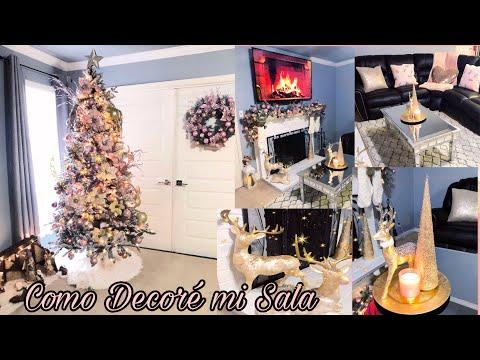Como Decore La Sala Para Navidad 🎄/ Ideas para Decorar tu Casa