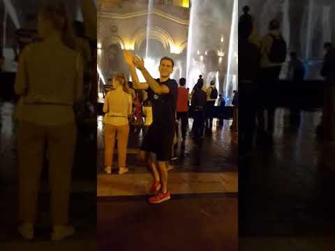 Dancing in Republic Square | Yerevan, Armenia