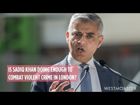 Is Sadiq Khan doing enough to combat violent crime in London?
