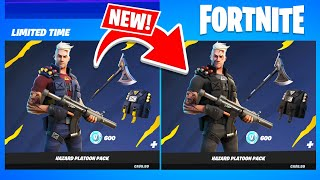 New *BANNED* HAZARD PLATOON Pack!! (Fortnite Battle Royale)