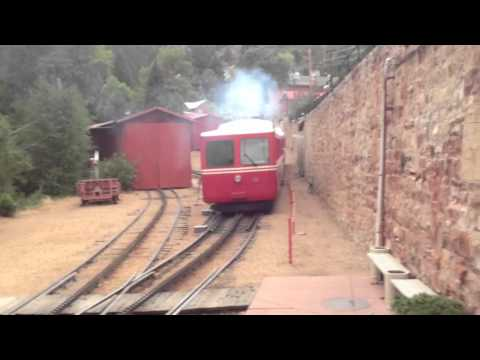 The Cog Train that took us to Pikes Peak