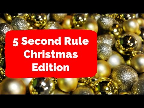 🎄 Christmas Quiz 2016: 5 second rule 🎄