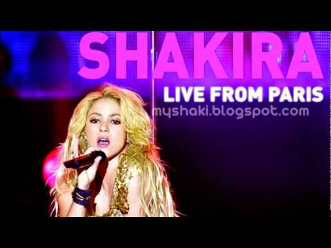 Shakira -  Gypsy (CD Shakira Live from Paris)