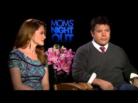 Moms' Night Out: Sarah Drew & Sean Astin Official Interview