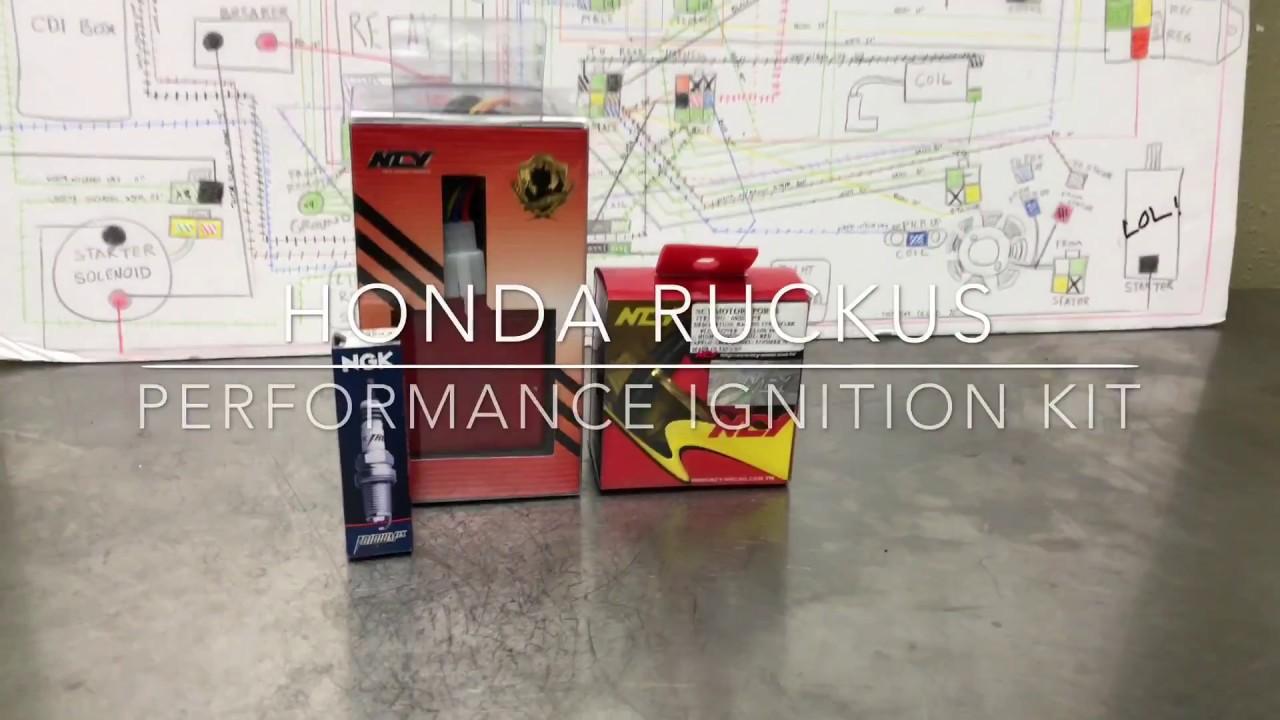 Honda Ruckus Performance Ignition kit – Rolling Wrench
