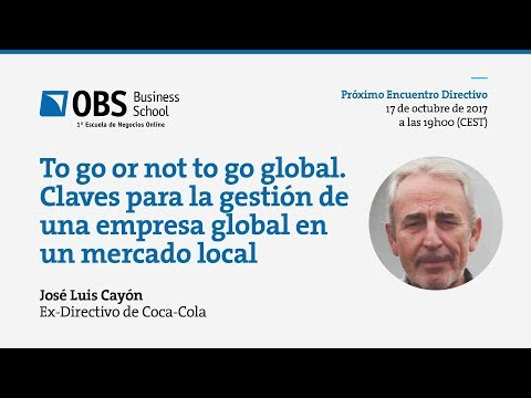 To go or not to go global   OBS Business School