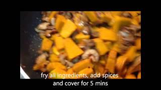Chinese Steamed Pumpkin Kuih