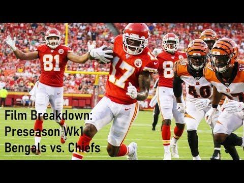 Film Breakdown: Bengals vs. Chiefs Preseason Wk 1