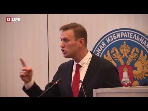 Навальному не разрешили участвовать в выборах. Он ответил почему