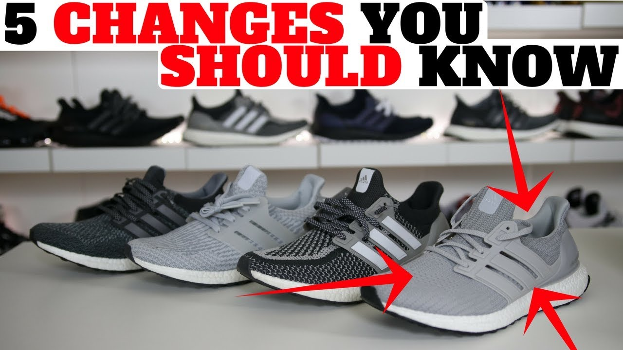 exquisite design 100% high quality great look 5 CHANGES to the adidas UltraBOOST 4.0 YOU SHOULD KNOW ABOUT!! Ultra Boost  4.0 Review!