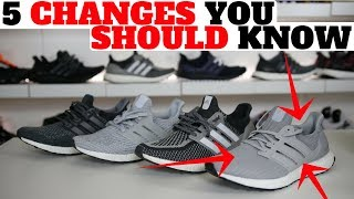 5 CHANGES to the adidas UltraBOOST 4.0 YOU SHOULD KNOW ABOUT!! Ultra Boost 4.0 Review!