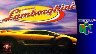 Nintendo 64 Longplay: Automobili Lamborghini
