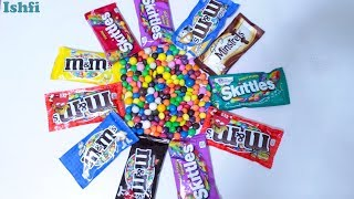 M & M and Skittles Candy show from Ishfi
