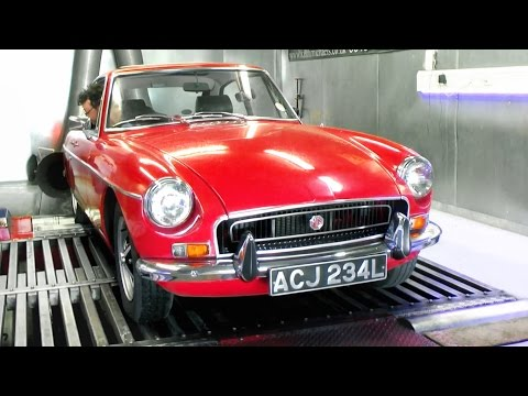 How much power has my MGB GT lost in 43 years? - Dyno run!