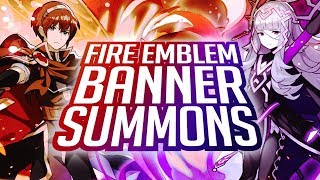 Dragalia Lost - Fire Emblem: Lost Heroes Event! FEH Collab Banner Summons