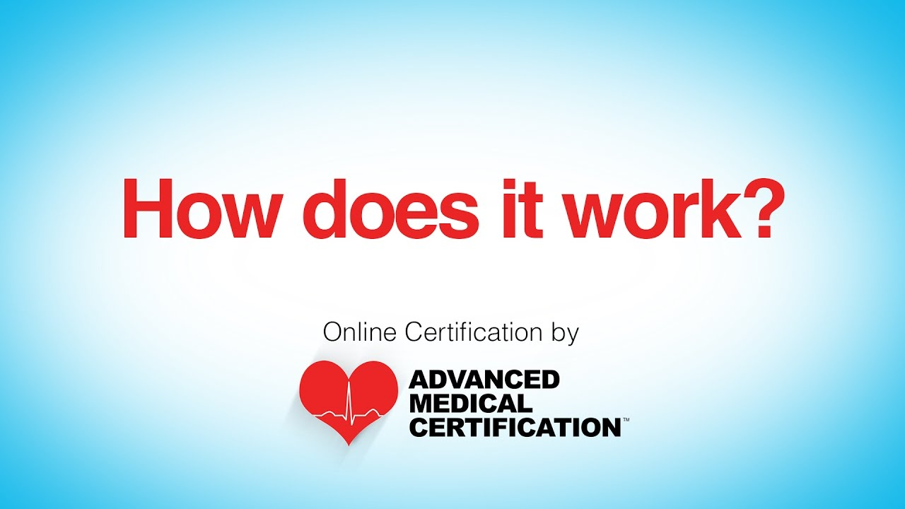 Advanced Medical Certification Youtube
