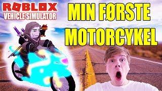 MIN FØRSTE MOTORCYKEL - VEHICLE SIMULATOR - DANSK ROBLOX - [#4]