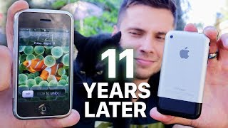 Using The ORIGINAL iPhone 2G in 2018! (Modern Torture)
