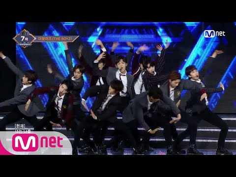 THE BOYZ  Boy KPOP TV Show  M COUNTDOWN 171221 EP551