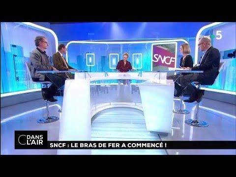 SNCF : le bras de fer a commencé ! #cdanslair 14.03.2018
