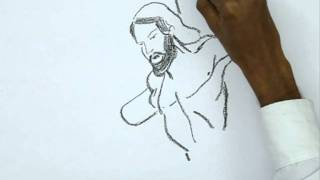 How to Draw a Jesus Crucifixion