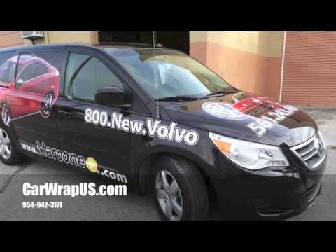 Volkswagen Van 3M Vinyl Car Wrap, Maroone Dealership,Fort Lauderdale