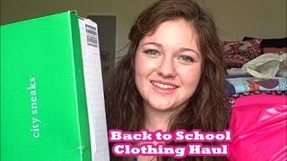 Back to School Clothing Haul Thumbnail