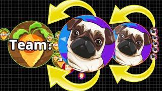 Agar.io Team Killer Solo Rush Mode Pro Agario Epic Gameplay!