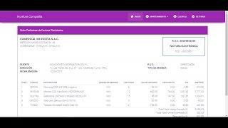 FACTURACIÓN ELECTRÓNICA SUNAT - DESARROLLADO EN PHP
