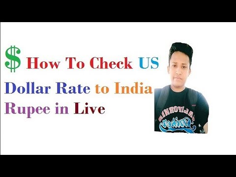 How To Check Us Dollar Rate India Ru In Live