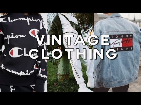TOP 5 PLACES TO SHOP ONLINE FOR VINTAGE CLOTHES