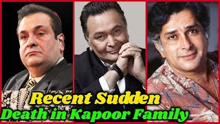 10 Kapoor Family Members who Died Recently | Rajiv Kapoor, Rishi Kapoor, Sashi Kapoor, Shammi Kapoor