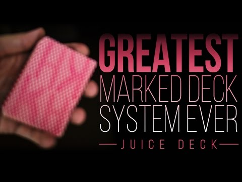 GREATEST Marked Deck System Ever Created [CHEAT in POKER and MAKE MONEY] – Juice Deck