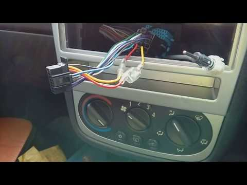 Corsa C 2000-2006 how to remove the radio & refit with part