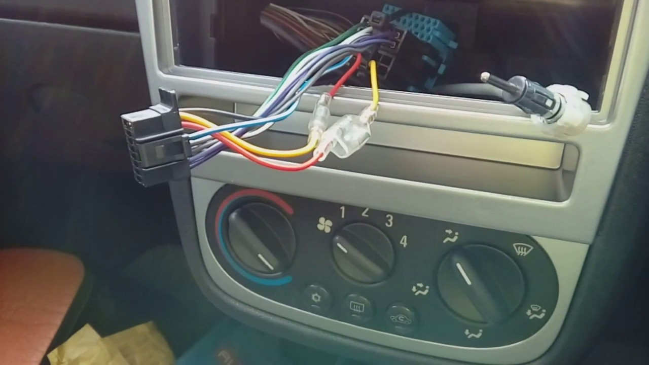 Corsa C 20002006 how to remove the radio & refit with