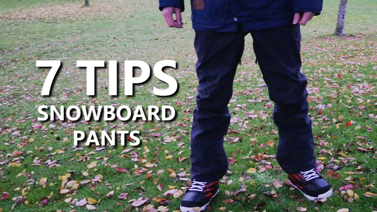 7 tips for buying snowboard pants youtube rh youtube com snowboard pants buying guide Buying Pants Clip Art