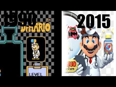 Dr. Mario Evolution 1990-2015 (inspired By Andrew Luiz)