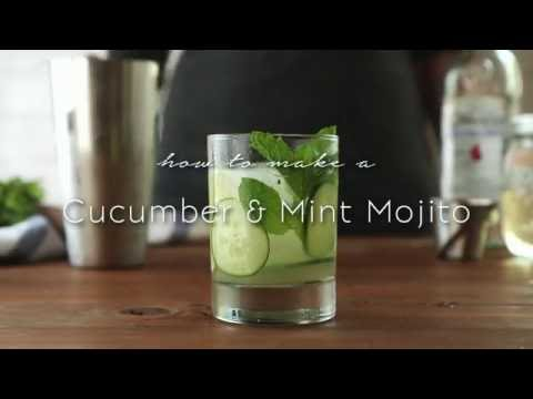 Cucumber & Mint Mojito