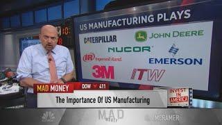 Jim Cramer: Investors should wait to buy winning industrial stocks such as Caterpillar