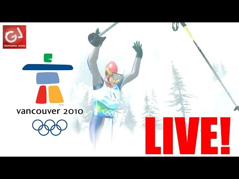 """NEW PERSONAL BEST"" - Let's Play Vancouver 2010 Winter Olympics (Badly) - LIVE!"