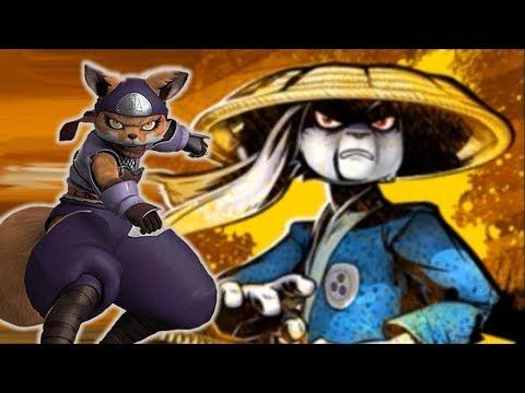 Teenage Mutant Ninja Turtles Legends - USAGI YOJIMBO & ALOPEX. [TMNT LEGENDS UPDATE X]