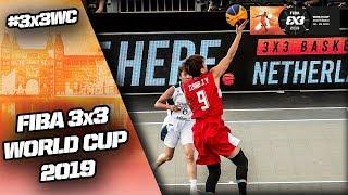 Turkmenistan v China   Women's Full Game   FIBA 3x3 World Cup 2019 thumbnail