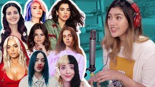 Singing Impressions Challenge 2 (Dua Lipa, Billie Eilish, Lana Del Rey, KZ, Melanie Martinez)| Lesha