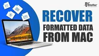 Stellar Phoenix Mac Data Recovery | Formatted Data Recovery
