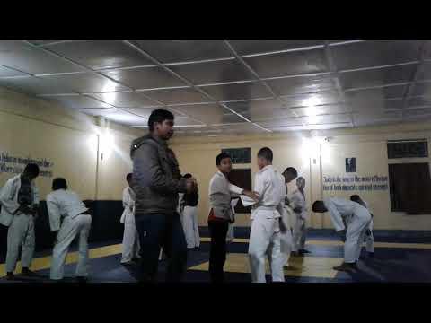 Judo training for satya prakash gkp