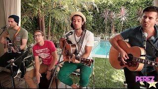 "Video MAGIC! - ""Rude"" (Acoustic Perez Hilton Performance) download MP3, 3GP, MP4, WEBM, AVI, FLV Maret 2018"